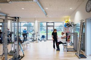 Troldtekt, Health Centre Sæby
