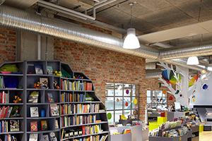 Troldtekt, Herning Library