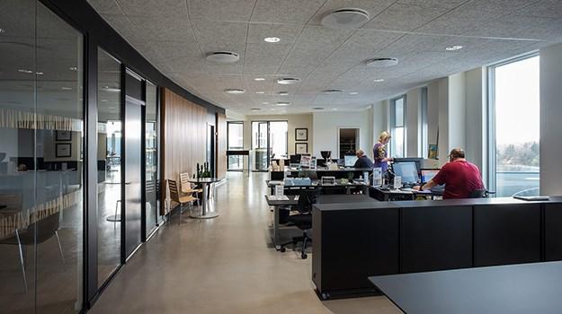 Troldtekt - Good acoustics in offices