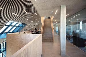 Troldtekt akustiklofter er det naturlige valg til at sikre god akustik og et sundt indeklima i bl.a. kulturbygninger
