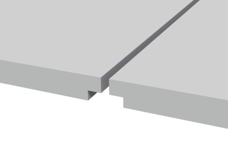 Troldtekt edge K0-FS