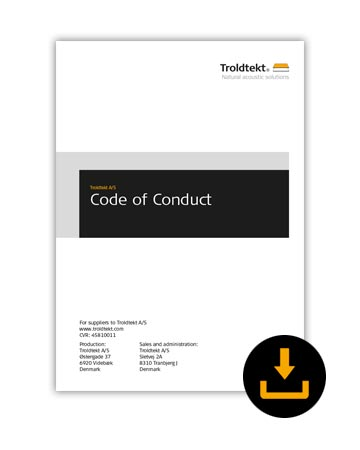Troldtekt download code of conduct