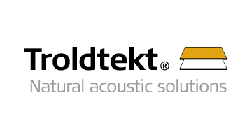 Better acoustics with sound-absorbing wood wool panels from Troldtekt